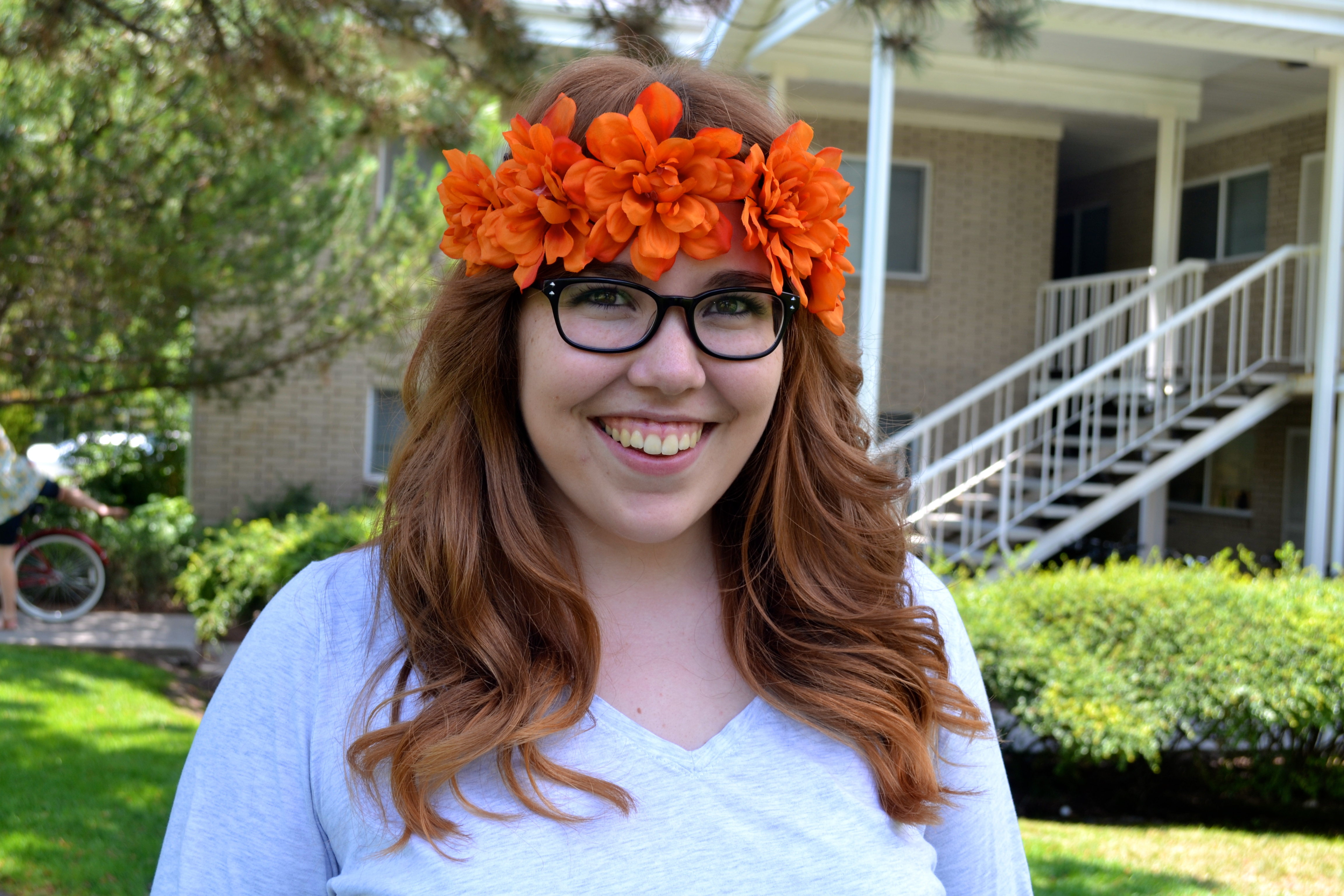 Flower crown eggswithketchup yes i dyed my hair this summer and i am loving my red head era tons of people have been surprised at how natural it looks and some couldnt believe izmirmasajfo